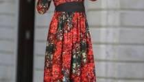 Neva Style Desenli Elbise Modelleri