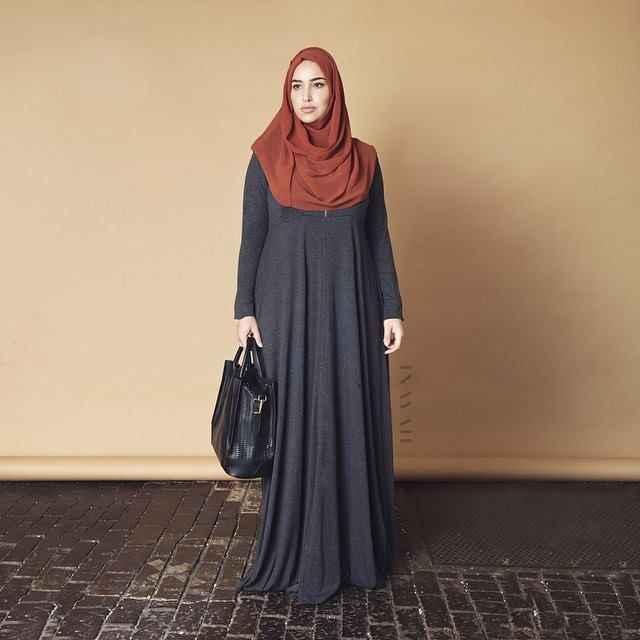 2018 Modern Tesettür Hamile Giyim Modelleri