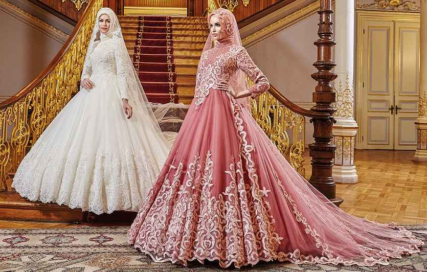 6fada6b30d928 2018 Osmanlı Tesettür Nişanlık Modelleri - Moda Tesettür Giyim