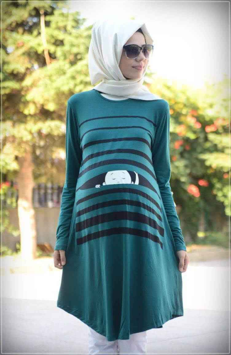 Bu Yaz Hamile Giyim Modası
