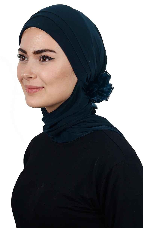 En Güzel Bone Eşarp Modelleri