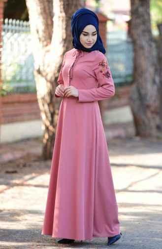 7a4807c55572c En Güzel Tesettür Elbise Modelleri - Moda Tesettür Giyim