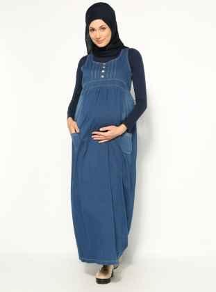 En Güzel Tesettür Hamile Giyim Modelleri