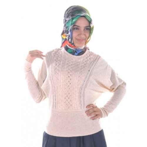 Moda Tesettür Kazak Modelleri