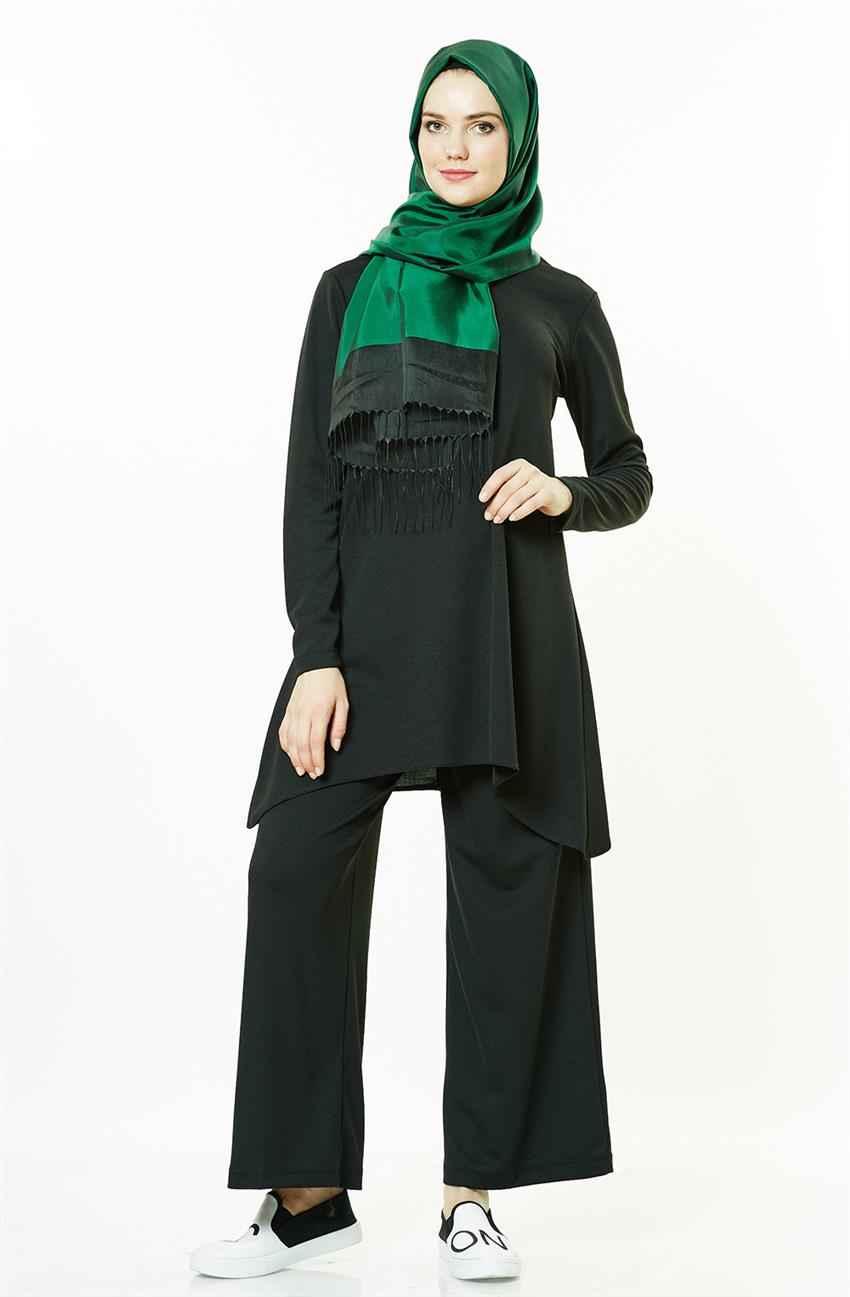 Modern Tesettür Pantolonlu Takım Modelleri