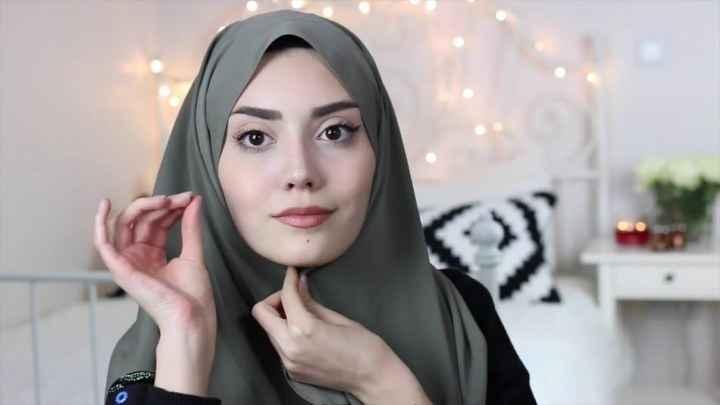 Modern Tesettür Bone Eşarp Modelleri
