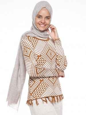 Yeni Moda Tesettür Kazak Modelleri