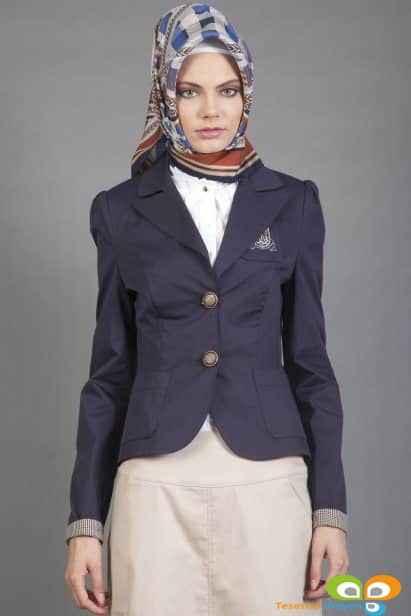 blazer tesettür ceket modelleri