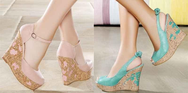 en güzel dolgu topuklu ayakkabı modelleri