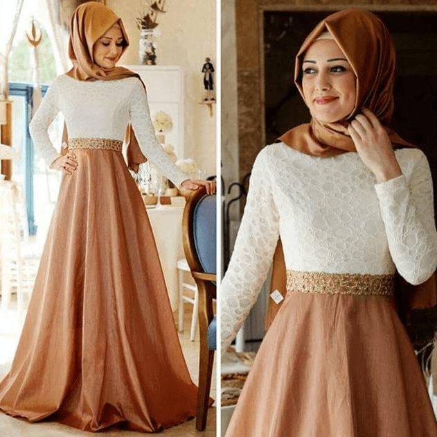 Tesettür Mezuniyet Elbise Model ve Kombinleri