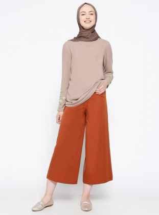 moda Tesettür Pantolon Modelleri