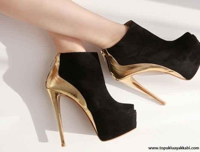 moda topuklu ayakkabı modelleri