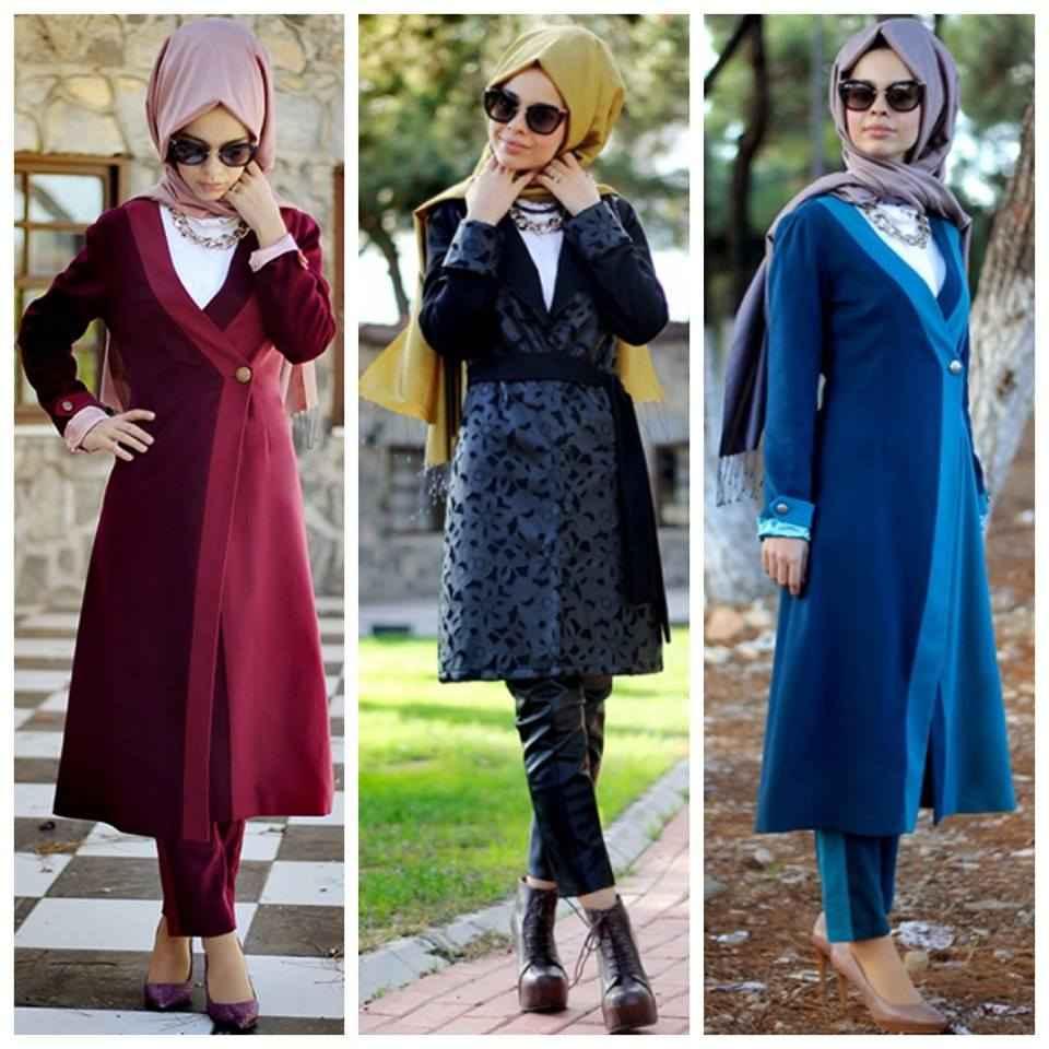 b2df4b4485c5c şık tesettür kış modası - Moda Tesettür Giyim