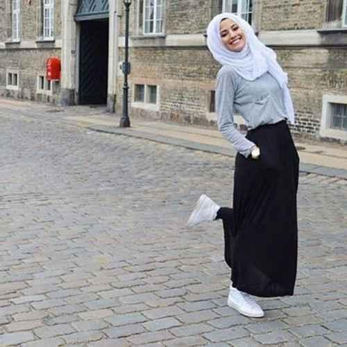 3c4af11585c46 2017 Tesettür Spor Giyim Kombinleri - Moda Tesettür Giyim