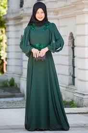 En Şık Sedanur Tesettür Elbise Modelleri