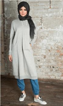 En Güzel Tesettür Spor Giyim Elbise Modelleri