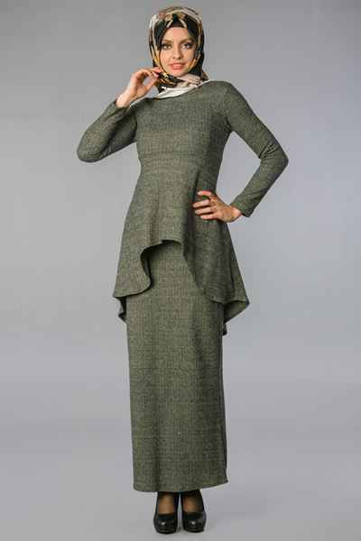 Etek Takımlı Sedanur Tesettür Tunik Modelleri