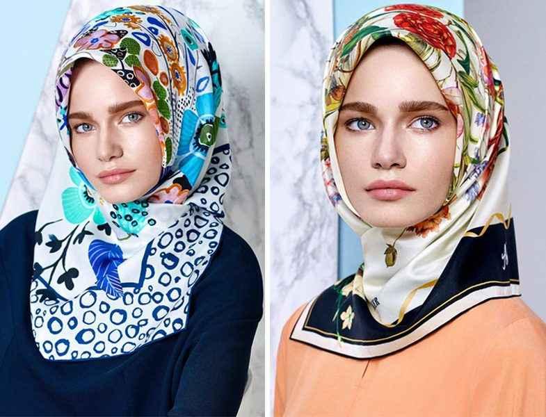 Genç Bayanlar İçin Eşarp Bağlama Modelleri