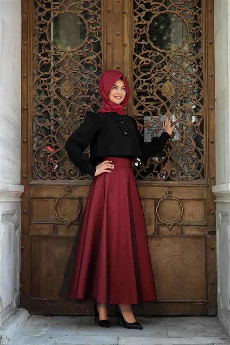 Pınar Şems İncili Etek Modelleri