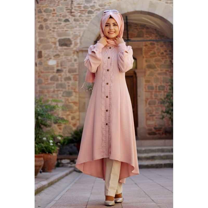 Pınar Şems Düğmeli Tunik Modelleri