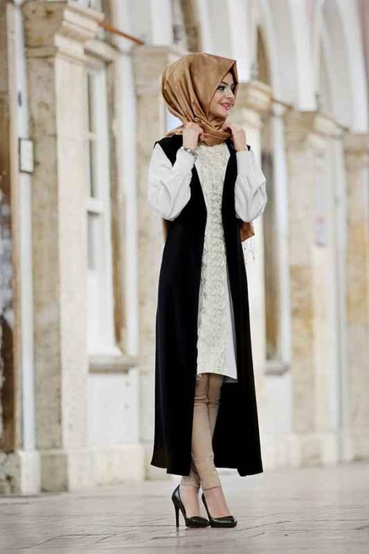 Pınar Şems Dantelli Tunik Modelleri