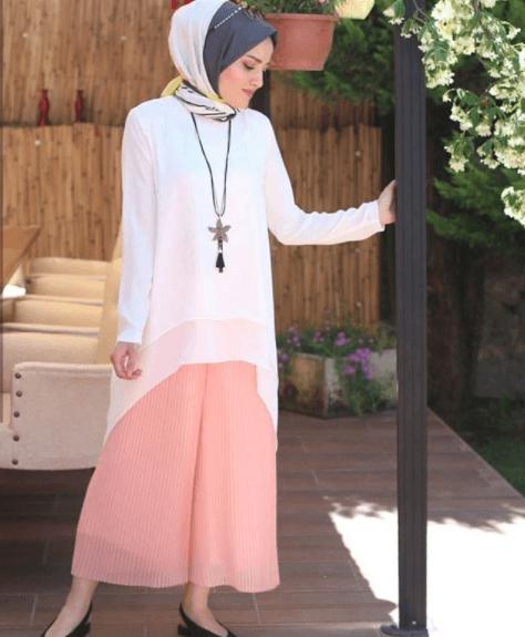 d6d810517ec6b 2018 Tesettür Yaz Modası Kombinleri - Moda Tesettür Giyim