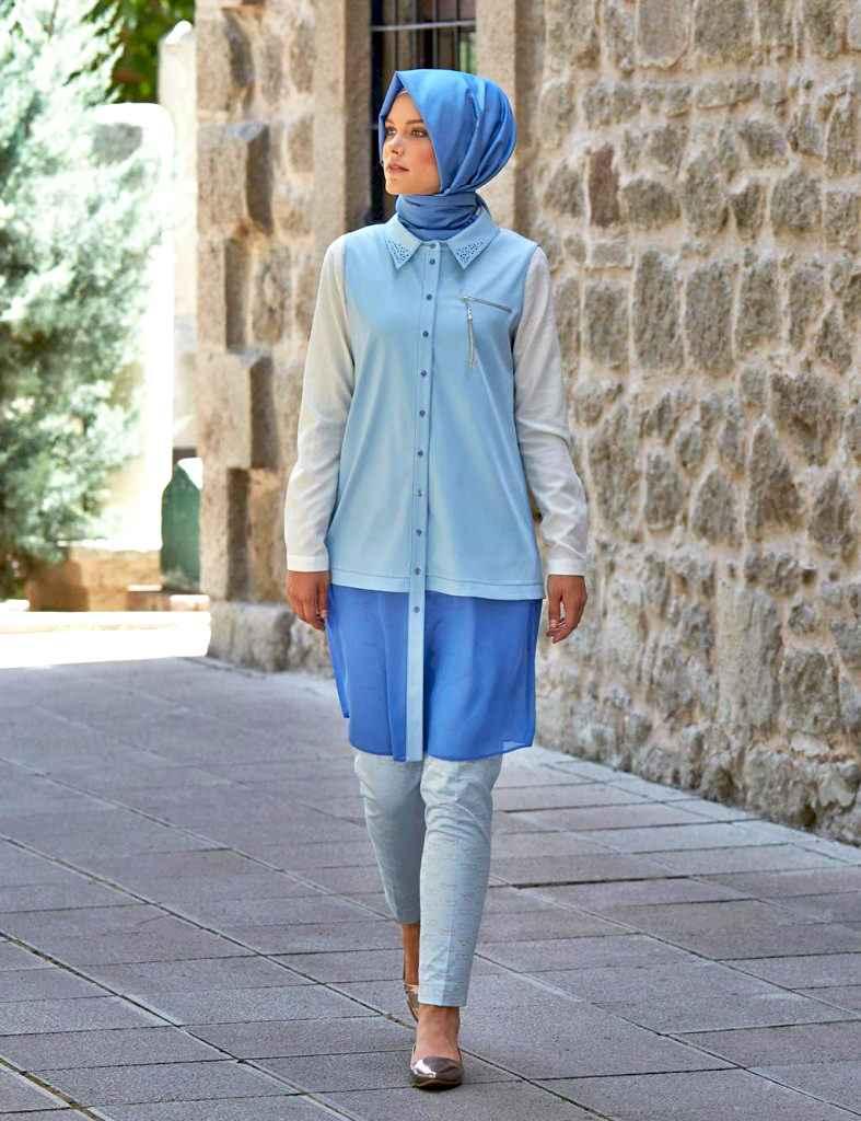 En Şık Tesettür Yaz Modası Kıyafetleri