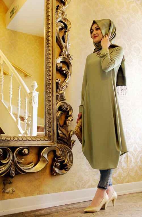 En Şık Tesettür Yazlık Tunik Modelleri