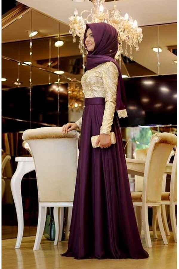 En Güzel Pınar Şems Tesettür Abiye Modelleri