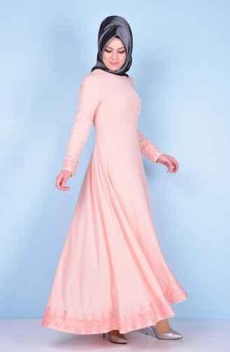 Etek Ucu Dantelli Elbise Modelleri