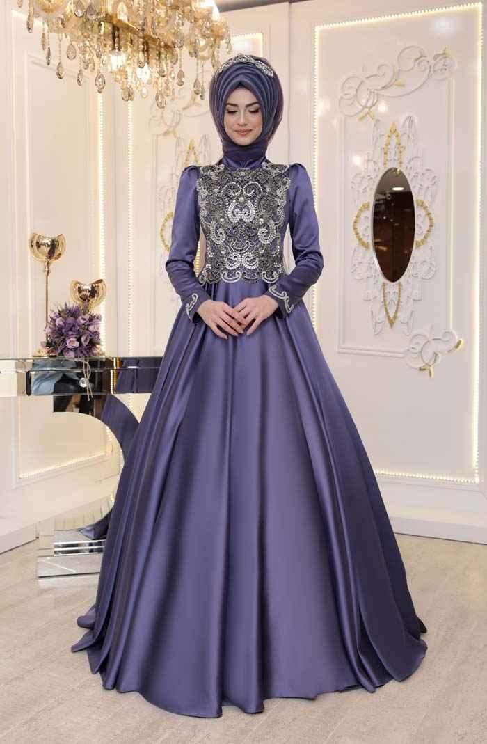 Modern Pınar Şems Tesettür Abiye Modelleri