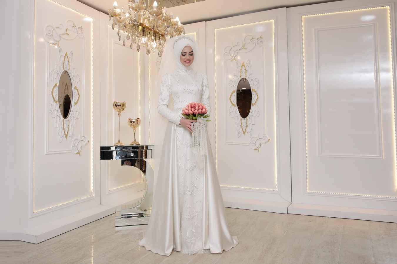Pınar Şems İkbal Tesettür Abiye Modelleri
