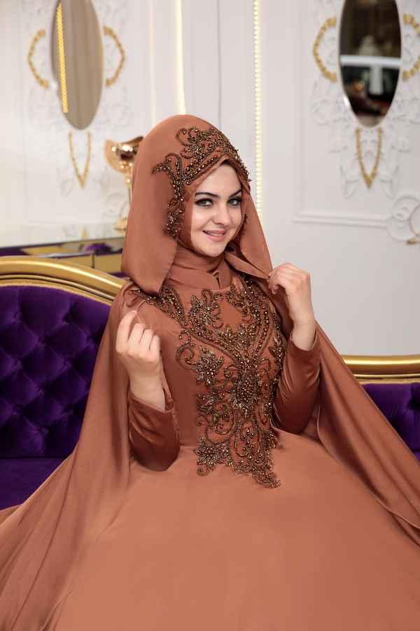 Pınar Şems Şura Tesettür Abiye Modelleri