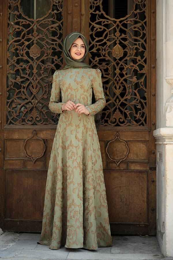 Pınar Şems Azra Tesettür Abiye Modelleri