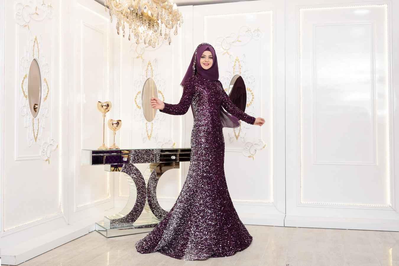 Pınar Şems Günyeni Tesettür Abiye Modelleri