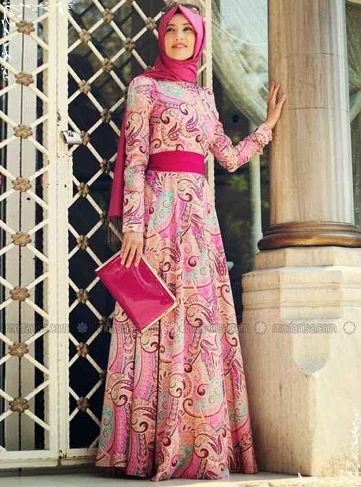 32c1e7717146f Renkli Tesettür Yaz Modası - Moda Tesettür Giyim