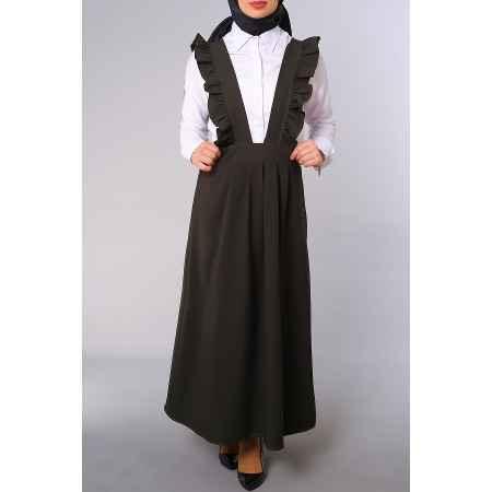 Şık ve Modern Tesettür Bahçıvan Elbise Modelleri