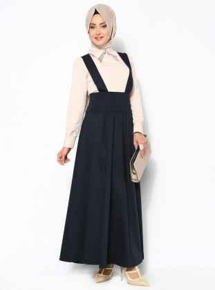Modern Tesettür Bahçıvan Elbise Modelleri