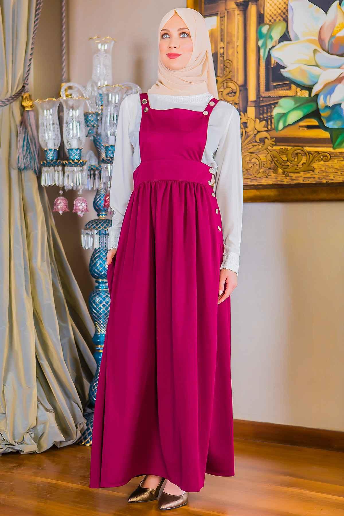 Modern ve Şık Tesettür Bahçıvan Elbise Modelleri