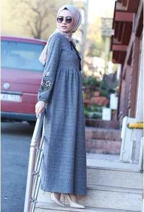 faf502ae90e83 Yazlık Tesettür Elbise Modelleri - Moda Tesettür Giyim