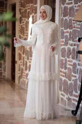 e6b6fa3af1c4c Şık 2018 Tesettür Elbise Modelleri - Moda Tesettür Giyim