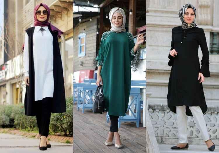 2018 Tesettür Giyim Modası