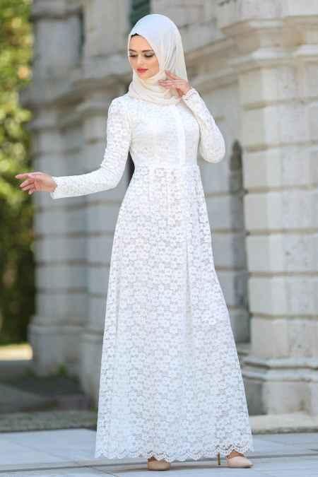 56a3008a576c6 Boydan Güpürlü Tesettür Abiye Modelleri - Moda Tesettür Giyim
