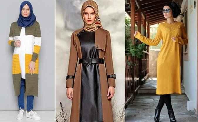 Sonbahar-Kış Tesettür Giyim Modası