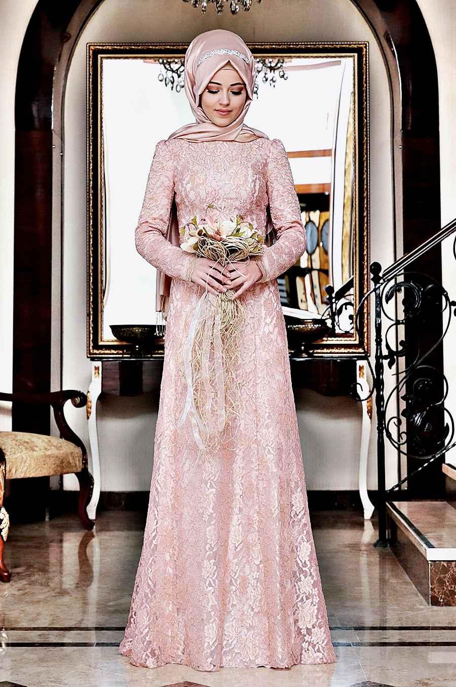 2017-2018 Tesettür Abiye Elbise Modelleri