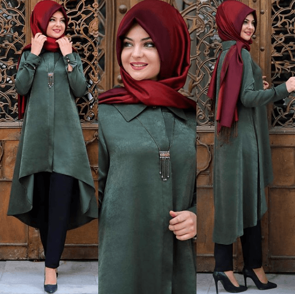2018 Pınar Şems Tunik Modelleri