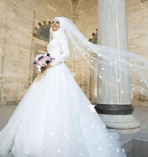 08ead3b3209ec Tesettür Prenses Gelinlik Modelleri | Moda Tesettür Giyim
