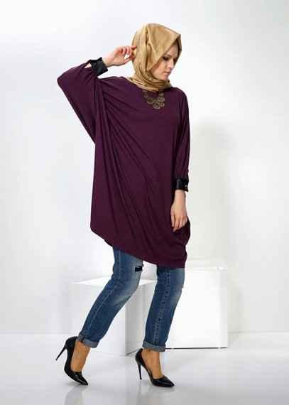 Alvina Tesettür Kışlık Tunik Modelleri