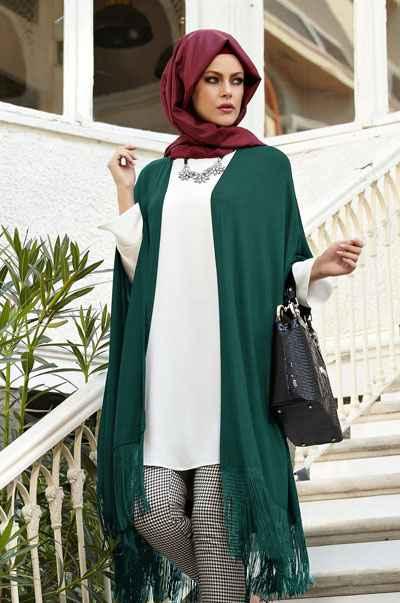 fa4a8ab278caf Alvina Tesettür Yelek Modelleri - Moda Tesettür Giyim