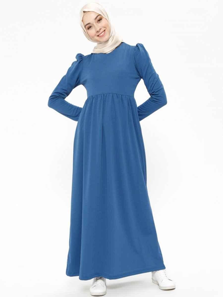 Bwest Tesettür Robalı Elbise Modelleri